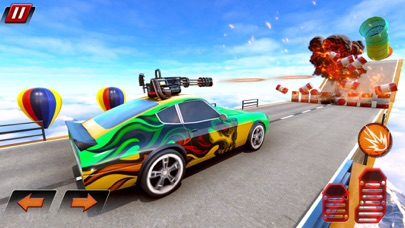Crazy Shooting Car Stunts Sim screenshot 10