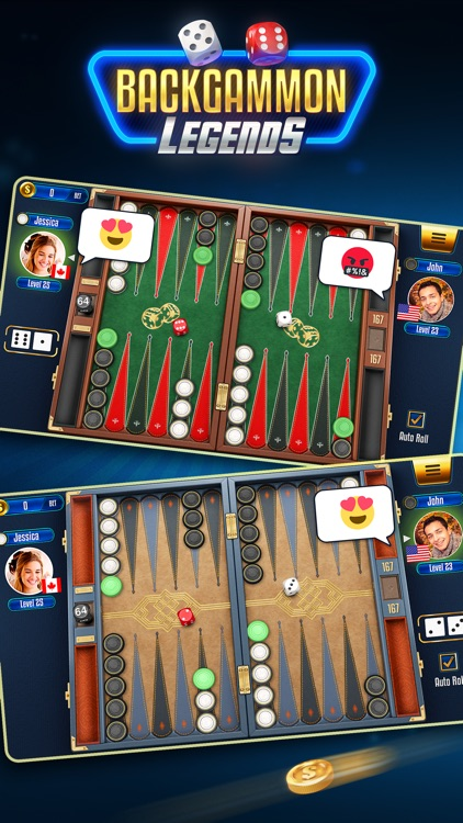 Backgammon Legends screenshot-0