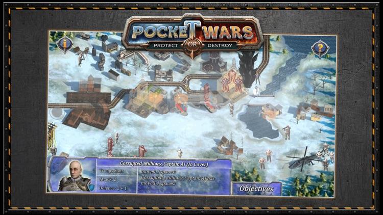Pocket Wars Protect or Destroy screenshot-8
