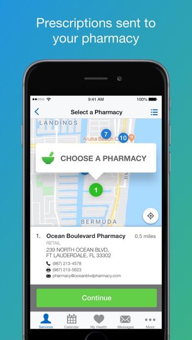 Nuvance Health Virtual VisitsScreenshot of 2