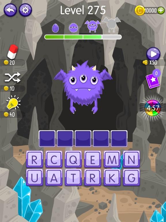 Word Monsters: Word Game screenshot 7