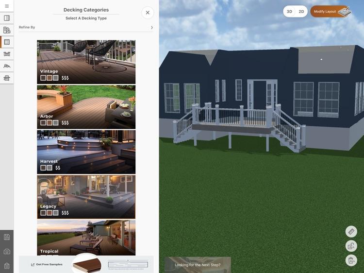 TimberTech Deck Designer screenshot-5