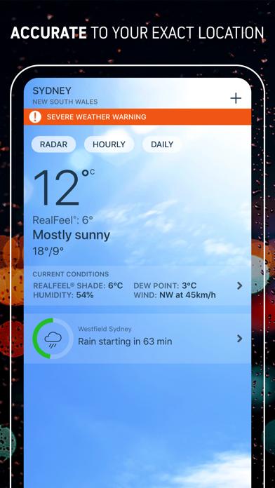 Weather Alerts - AccuWeather screenshot two