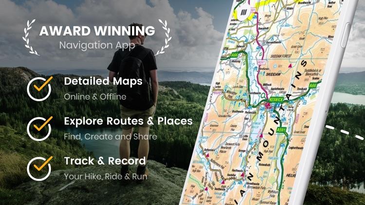 Outdoors GPS – Offline OS Maps