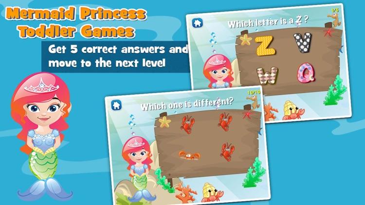 Mermaid Princess Toddler Game