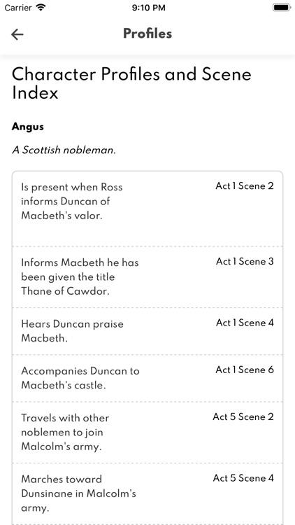 Macbeth Full Audio screenshot-5