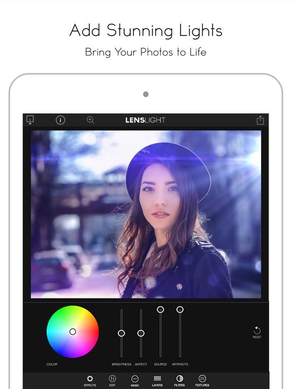 LensLight Visual Effects Screenshots