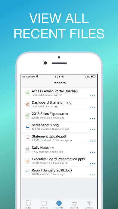 Screenshot for MobileIron Docs@Work in Austria App Store