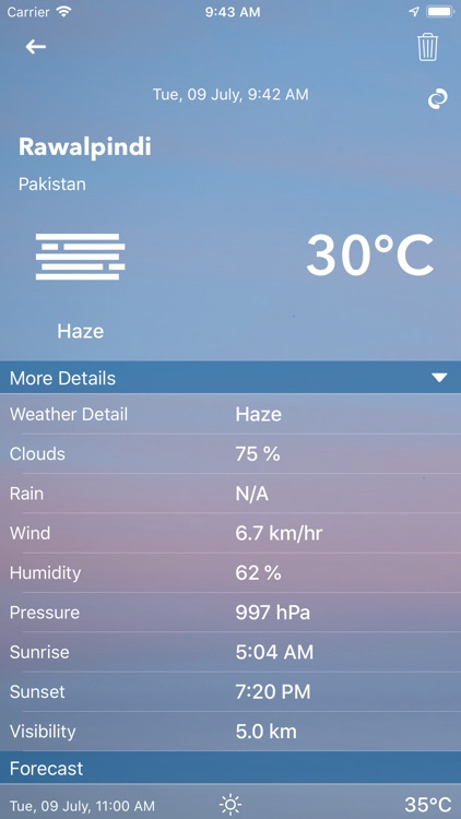 Weather Update Live screenshot-9