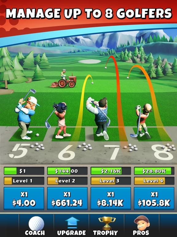Idle Golf Tycoon screenshot 6