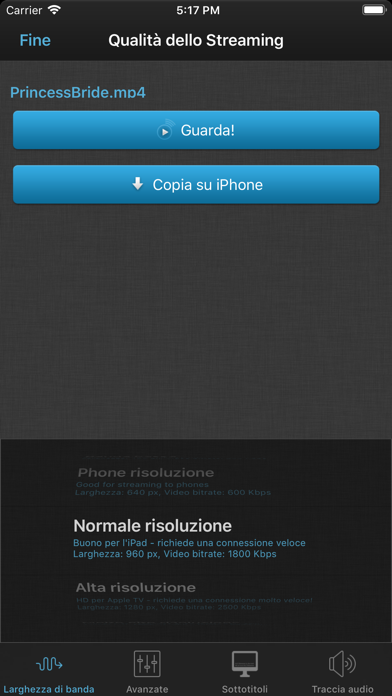 Screenshot for VLC Streamer in Italy App Store