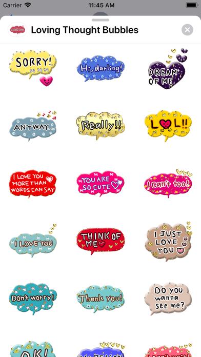 Loving Thought Bubbles screenshot 2
