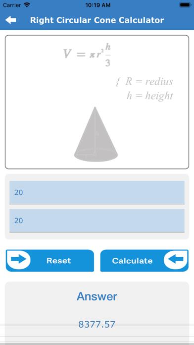 Calc For Geometry screenshot 5