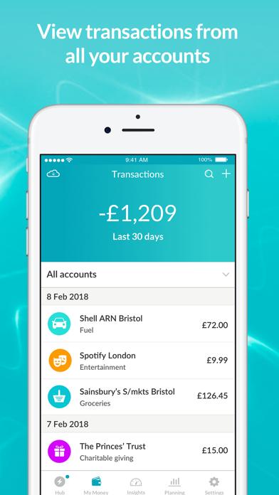 Moneyhub - Personal Finance screenshot four