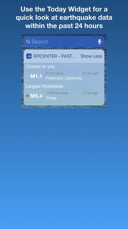 Epicenter - Global Earthquakes screenshot-4