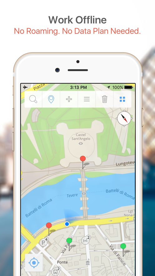Gothenburg Map & Walks (F) App 截图