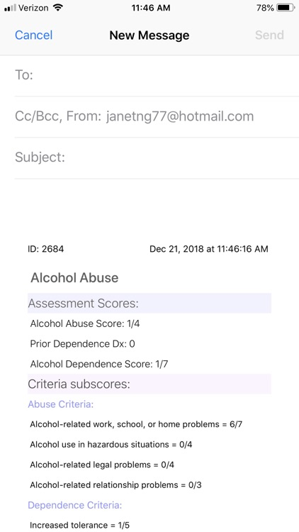 My Alcohol Use (Assessment) screenshot-8