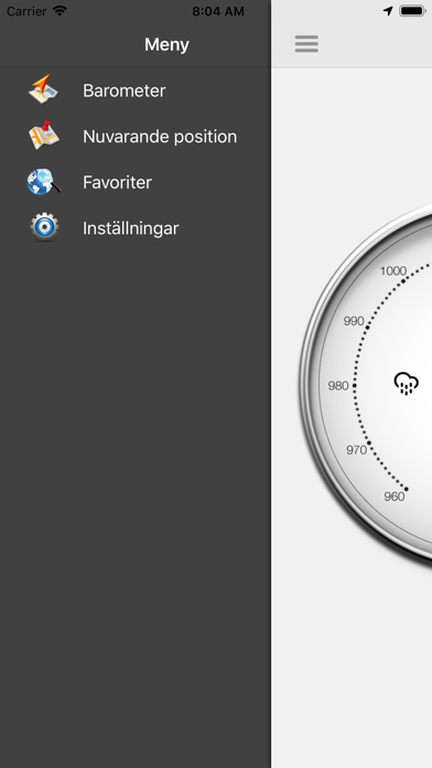 Barometer - Atmosfäriskt tryck på PC