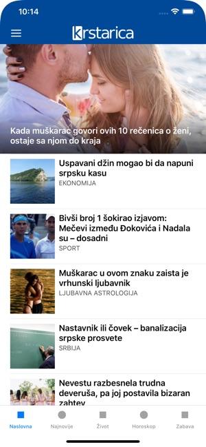 Krstarica Vesti I Zabava Na Usluzi App Store