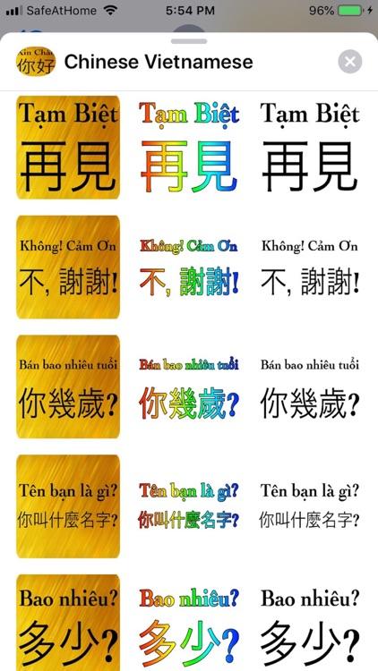 Chinese Vietnames screenshot-4