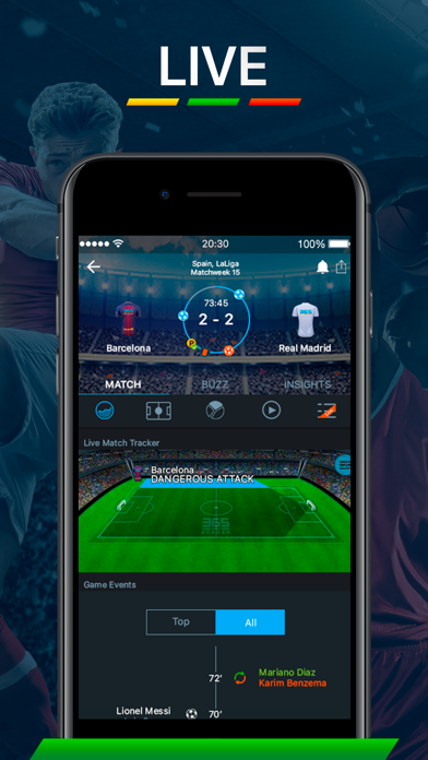 Screenshot for 365Scores - Live Scores in United States App Store
