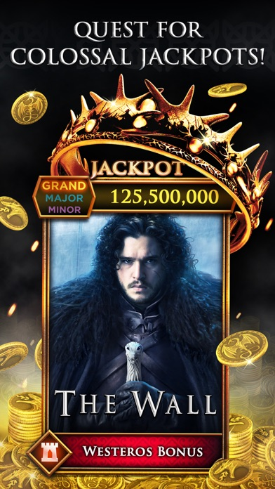 Game of Thrones Slots Casino Screenshot