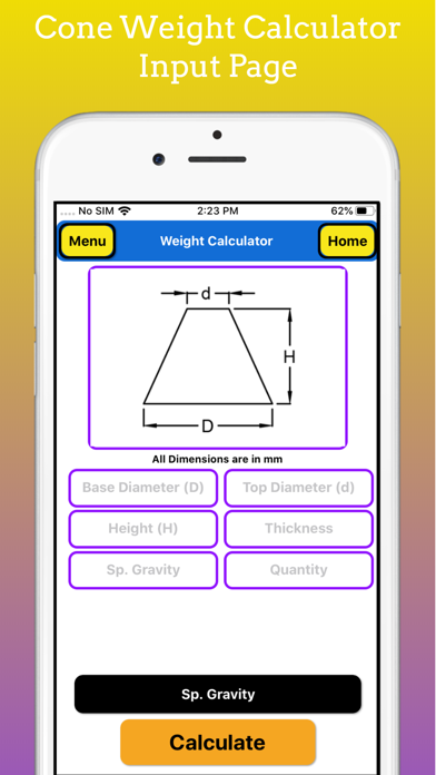 Fabrication Weight Calc Pro screenshot 7
