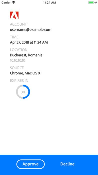 Screenshot for Adobe Authenticator in Japan App Store
