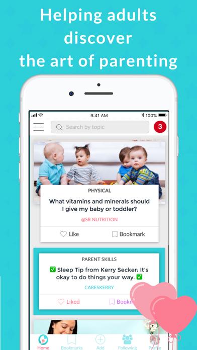 Kidbo - The Art of Parenting screenshot one