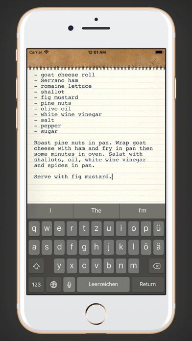 memono Notizen + TagebuchScreenshot von 7
