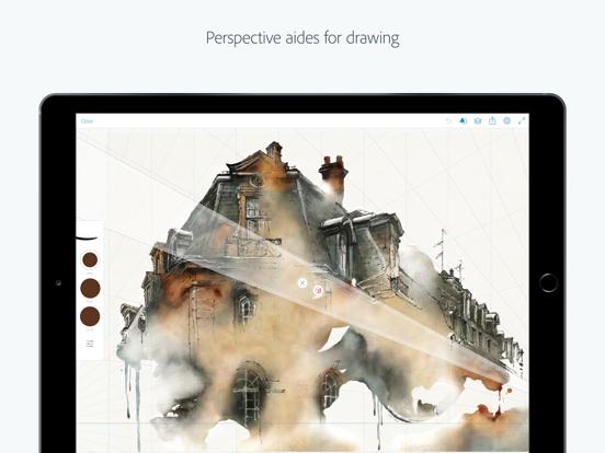 Adobe Sketch – inspiration, drawing & feedback screenshot