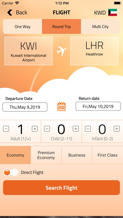 FlyBooking screenshot-2