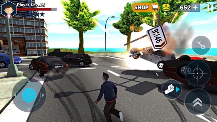Vice Vegas City Crime 3D screenshot-4