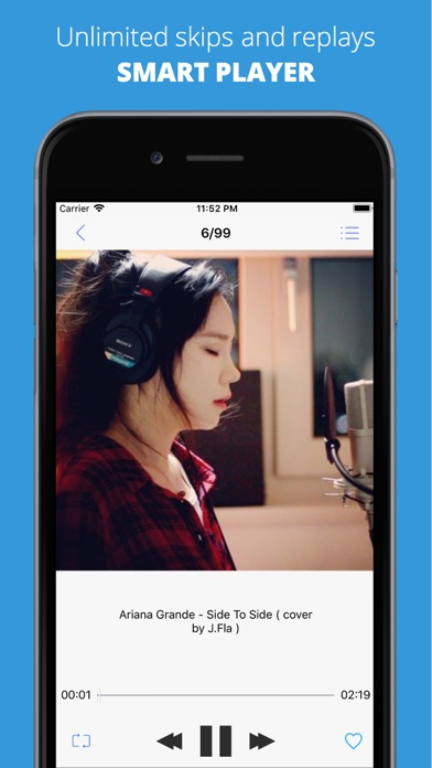 Screenshot #1 pour Music Player ๏