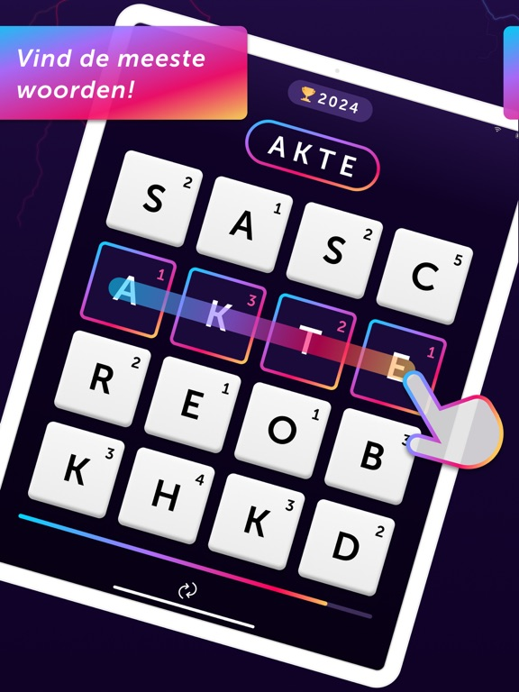Word Blitz ・ iPad app afbeelding 1