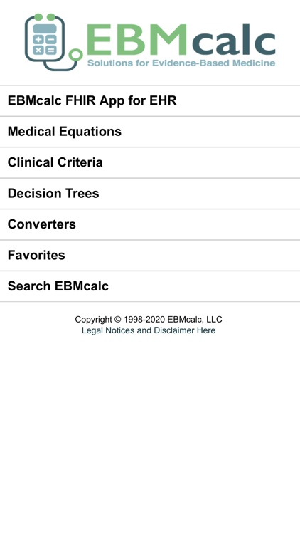 EBMcalc Pulmonary screenshot-0