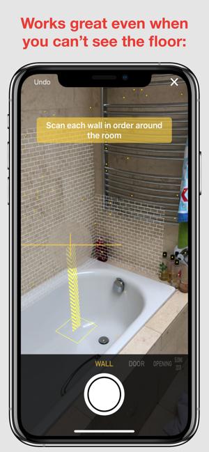 RoomScan Pro – floor plan app Screenshot