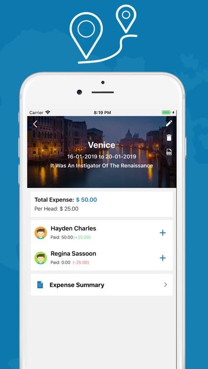 Trip Details Tracker screenshot-3