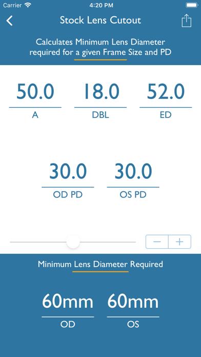 Optical Calculator screenshot two
