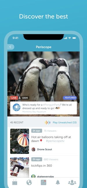 Periscope Live Video Streaming on the App Store