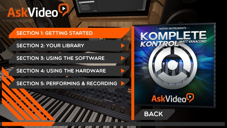 Exploring for Komplete Kontrol