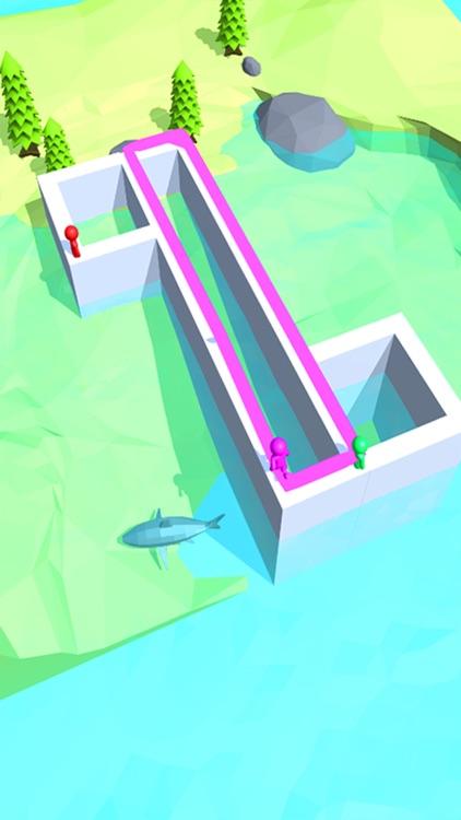 Run Race Paint 3D screenshot-3