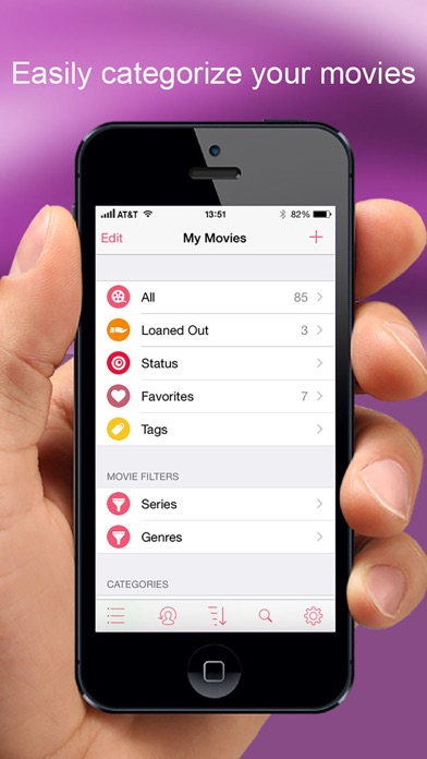 MovieBuddy: Movie Manager Screenshot on iOS