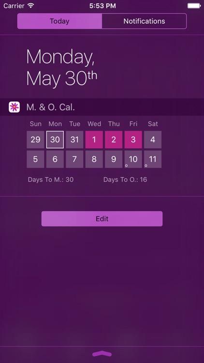 Menstrual Period Tracker Pro screenshot-4