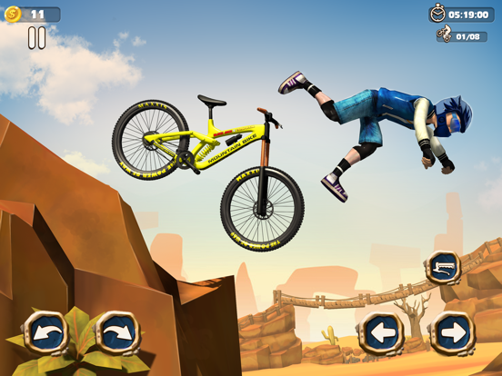 Dirt Bike Racing Stunts screenshot 3