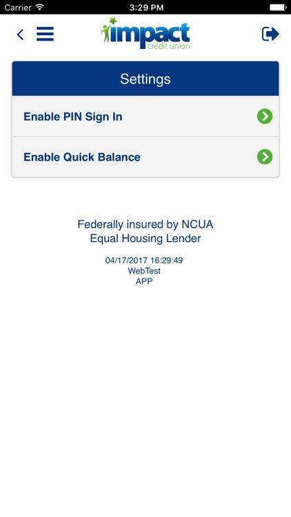 Impact CU Mobile screenshot-3