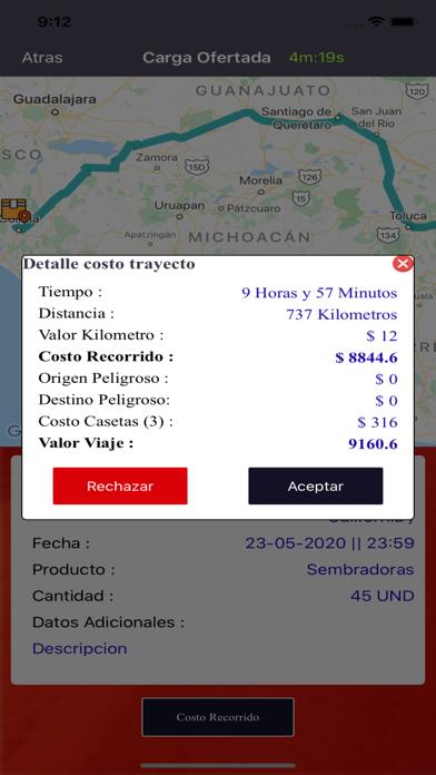Fletia TransportistaCaptura de pantalla de5