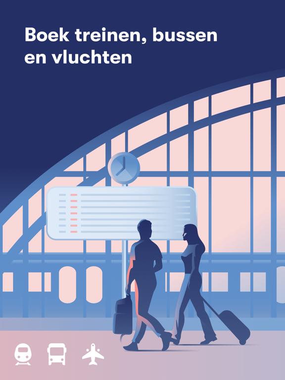 Omio: Trein, bus en vlucht