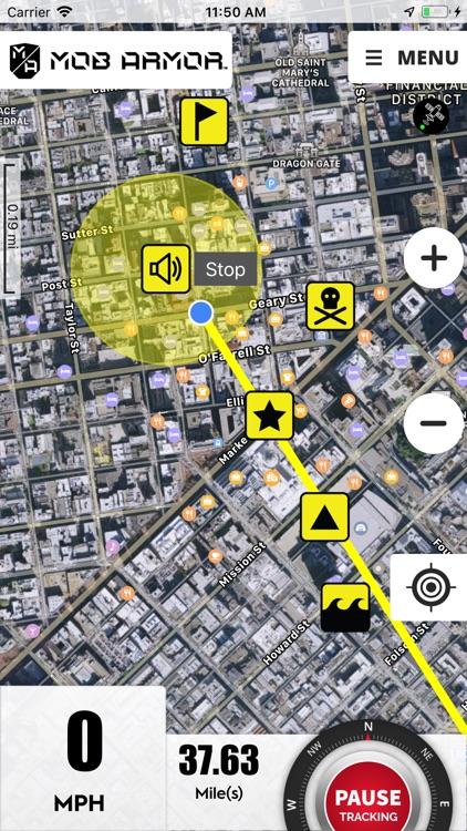Mob Armor GPS screenshot-4