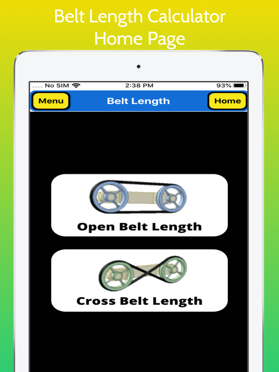 Belt Length Calculator screenshot 9